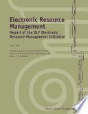 Electronic Resource Management Book PDF