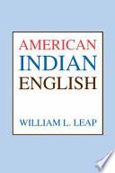American Indian English
