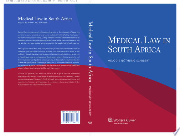 Medical Law in South Africa