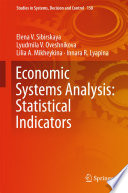 Economic Systems Analysis Statistical Indicators