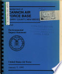 Cannon Air Force Base Afb Realignment Curry County
