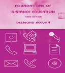 Foundations of Distance Education