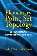 Elementary Point-Set Topology