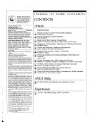 The Journal of Home Economics