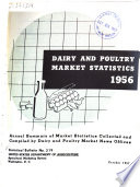 Dairy and Poultry Market Statistics