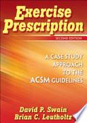 Exercise Prescription Book