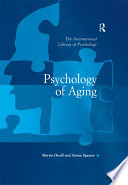 Psychology of Aging