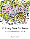 Coloring Book For Teens
