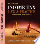 Income Tax Law & Practice A.Y 2020-21