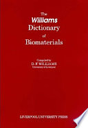 The Williams Dictionary of Biomaterials