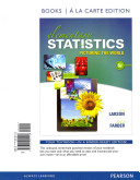 Elementary Statistics Books a la Carte Plus NEW MyStatLab with Pearson EText    Access Card Package