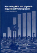Non Coding Rnas And Epigenetic Regulation Of Gene Expression Book PDF