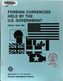 Pdf Foreign Currencies Held by the U.S. Government
