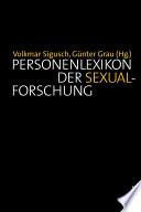 Personenlexikon der Sexualforschung