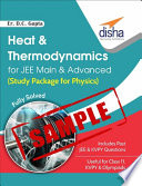 SAMPLE  Heat   Thermodynamics for JEE Main   Advanced  Study Package for Physics