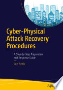 Cyber Physical Attack Recovery Procedures Book PDF