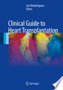 Clinical Guide to Heart Transplantation Book