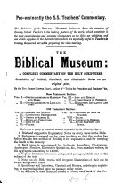The Biblical inquirer