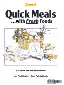 Sunset Quick Meals   with Fresh Foods