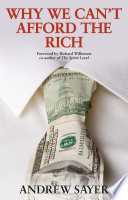 Why We Can t Afford the Rich