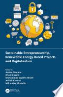 Sustainable Entrepreneurship  Renewable Energy Based Projects  and Digitalization
