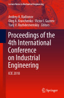 Proceedings of the 4th International Conference on Industrial Engineering