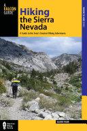 Hiking the Sierra Nevada Pdf/ePub eBook