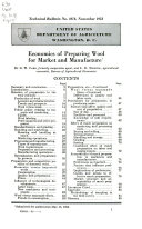 Pdf Economics of Preparing Wool for Market and Manufacture