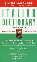 Living Language Italian Dictionary