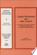 Capital Movements and Their Control