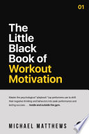 The Little Black Book Of Workout Motivation Book