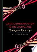 Crisis Communication in the Digital Age Book