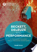 Beckett  Deleuze and Performance