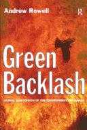 Green Backlash Pdf
