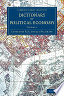 Dictionary Of Political Economy