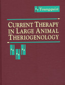Current Therapy In Large Animal Theriogenology Book PDF