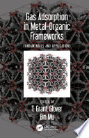 Gas Adsorption in Metal Organic Frameworks Book