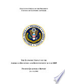Economic Impact Of The American Recovery And Reinvestment Act Of 2009