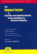 The Impact Factor Of Scientific And Scholarly Journals
