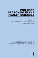 End User Searching in the Health Sciences [Pdf/ePub] eBook
