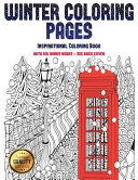 Inspirational Coloring Book (Winter Coloring Pages)