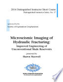 Microseismic Imaging of Hydraulic Fracturing