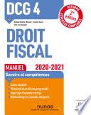 DCG 4 Droit fiscal - Manuel - 2020/2021