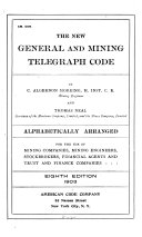 The New General and Mining Telegraph Code Book