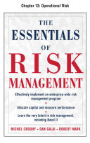 The Essentials of Risk Management  Chapter 13   Operational Risk