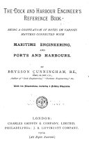 The Dock and Harbour Engineer s Reference Book Book