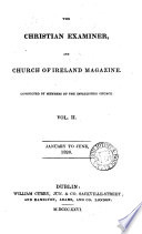 The Christian Examiner And Church Of Ireland Magazine
