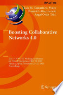 Boosting Collaborative Networks 4. 0