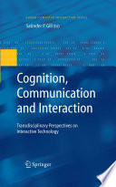 Cognition Communication And Interaction Book PDF