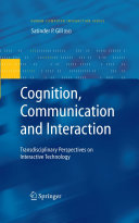 Pdf Cognition, Communication and Interaction